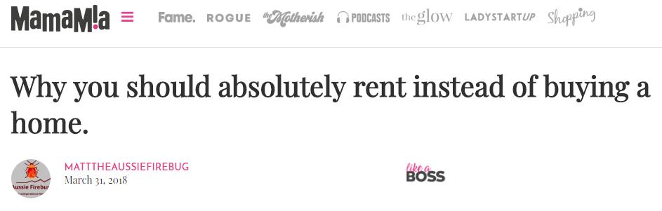 headline